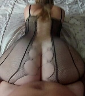 The hottest lingeries of Nini Divine sublimated by her big ass!